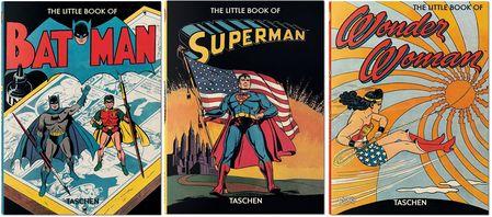 The little Books of Wonder Woman, Superman and Batman - Das Cover