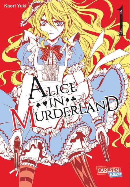 Alice in Murderland 1 - Das Cover