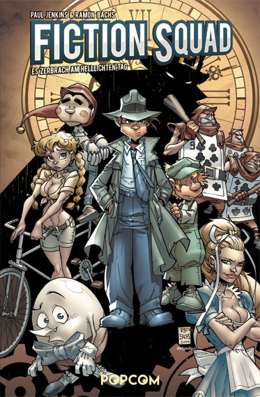 Fiction Squad 1: Es zerbrach am hellichten Tag - Das Cover