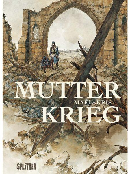 Mutter Krieg - Das Cover