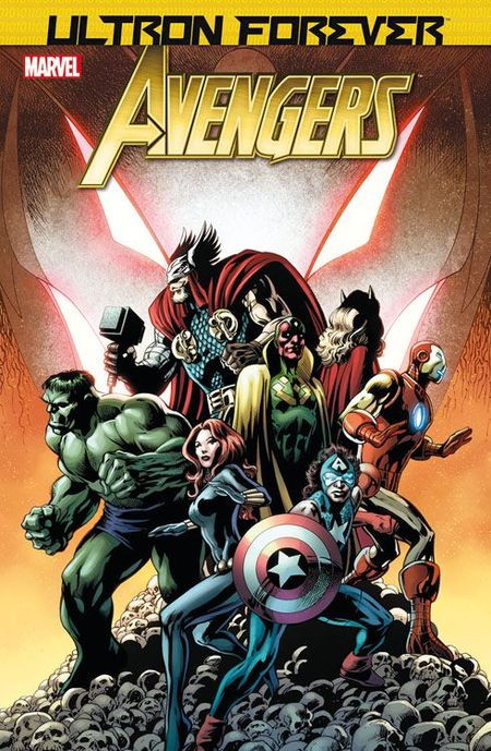 Marvel Exklusiv 118: Avengers - Ultron Forever - Das Cover