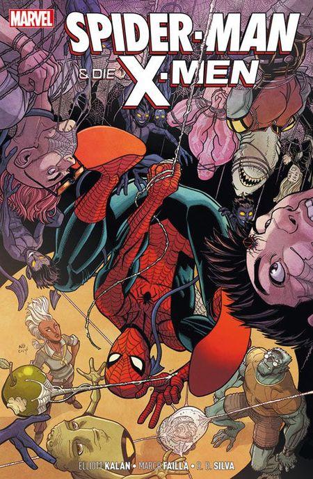 Spider-Man & The X-Men: Lehrkraft und Verantwortung - Das Cover