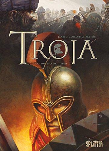 Troja 1: Das Volk des Meeres - Das Cover