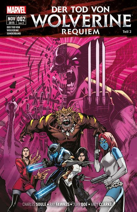 Der Tod von Wolverine: Requiem 2 - Das Cover