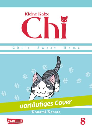 Kleine Katze Chi 8 - Das Cover