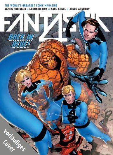 MARVEL NOW! Fantastic Four 2: Der lange Abschied - Das Cover