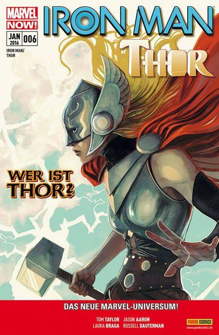Iron Man/Thor 6 - Das Cover