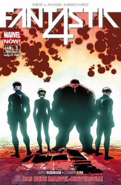 MARVEL NOW! Fantastic Four 3: Der Lange Abschied - Das Cover