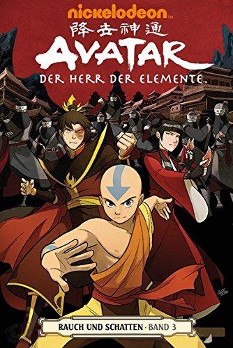 Avatar: Der Herr der Elemente 12: Rauch und Schatten 2 - Das Cover