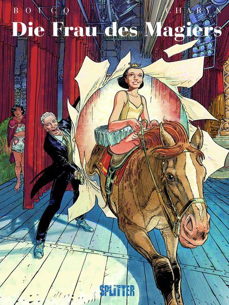 Die Frau des Magiers - Das Cover