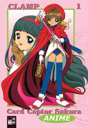 Card Captor Sakura Animated 1 - Das Cover