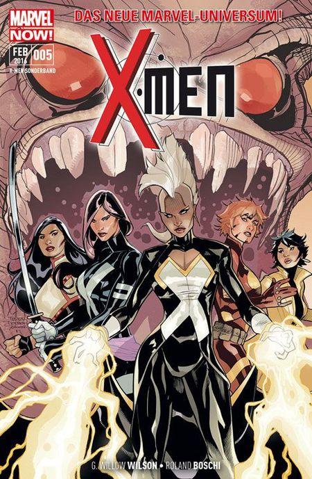 X-Men Sonderband 5: Die brennende Welt - Das Cover