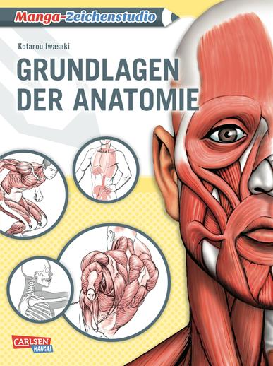 Manga-Zeichenstudio: Grundlagen der Anatomie - Das Cover