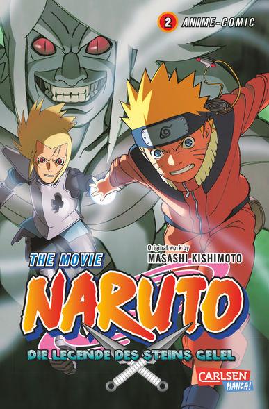 Naruto The Movie: Die Legende des Steins Gelel 2 - Das Cover