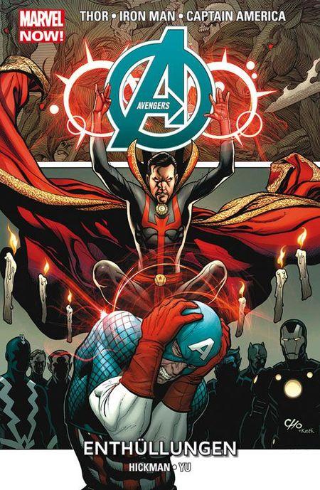 Marvel Now Paperback Avengers 5: Enthüllungen - Das Cover