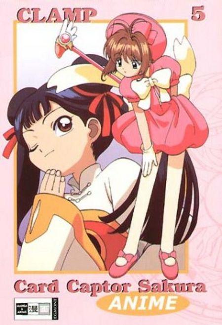 Card Captor Sakura Animated 5 - Das Cover