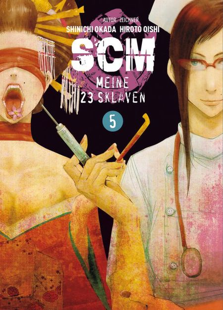 SCM 5 - Meine 23 Sklaven - Das Cover