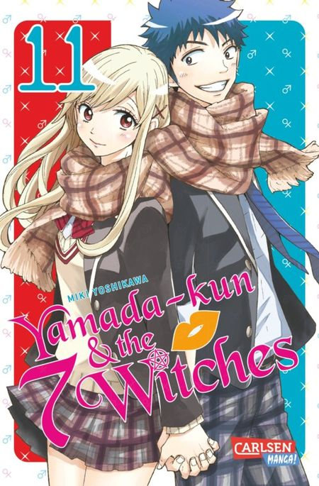 Yamada-kun and the 7 Witches 11 - Das Cover
