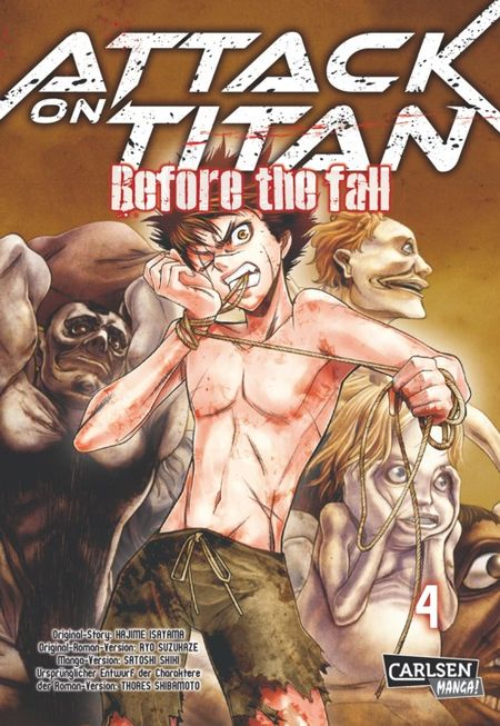 Attack on Titan - Before the Fall 4 - Das Cover