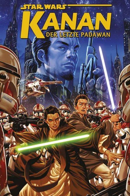 Star Wars Sonderband: Kanan – Der letzte Padawan - Das Cover