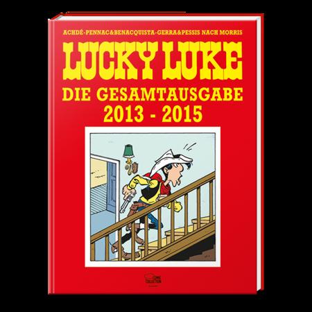 Lucky Luke Gesamtausgabe – 2013 - 2015 - Das Cover