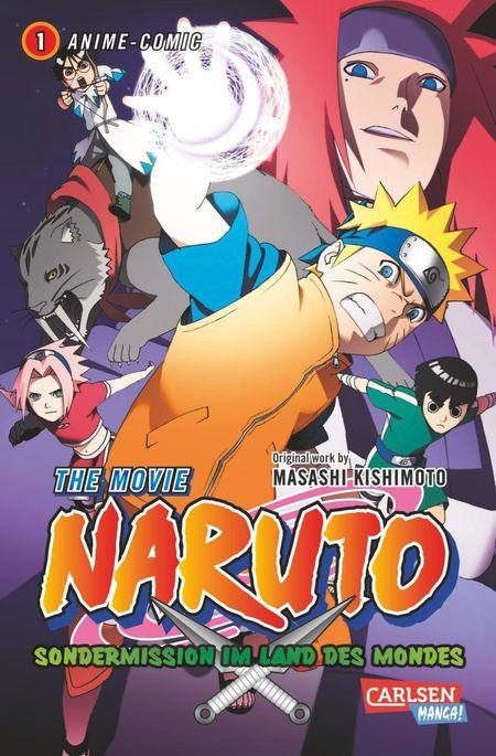Naruto The Movie: Sondermission im Land des Mondes 1 - Das Cover