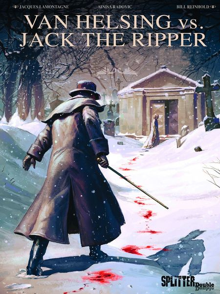 Van Helsing vs. Jack the Ripper - Das Cover