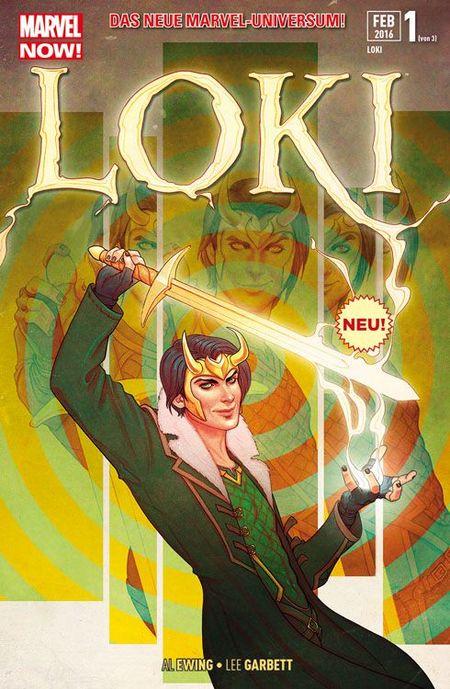 Loki 1: Liebesgrüsse aus Asgard - Das Cover