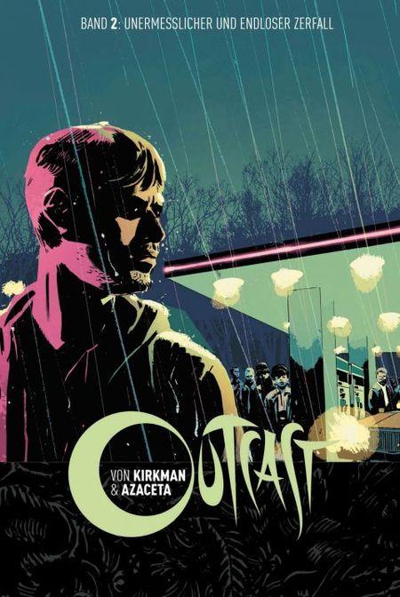 Outcast 2: Unermesslicher und endloser Zerfall - Das Cover