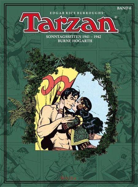 Tarzan 6: Sonntagseiten 1941-1942 - Das Cover
