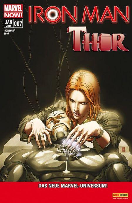 Iron Man/Thor 7 - Das Cover