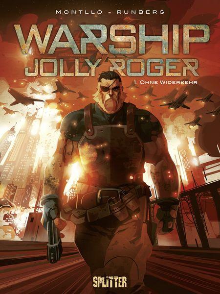Warship Jolly Roger: Band 1. Ohne Wiederkehr - Das Cover