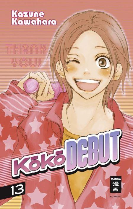 Koko DEBUT 13 - Das Cover