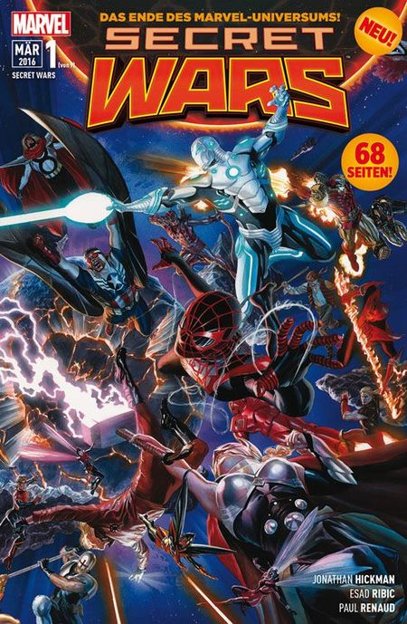 Secret Wars #1 - Das Cover