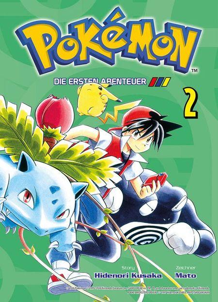 Pokémon: Die ersten Abenteuer 2 - Das Cover