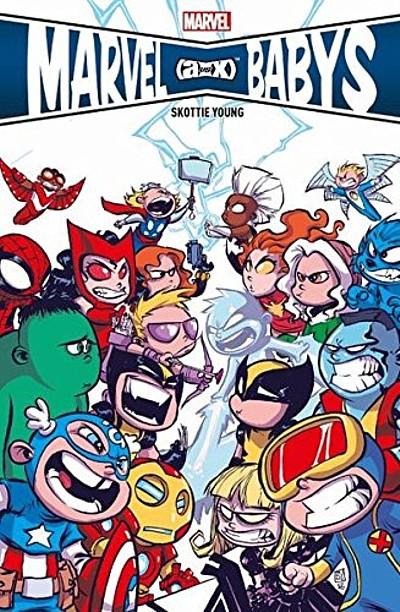 Marvel Babies - Das Cover