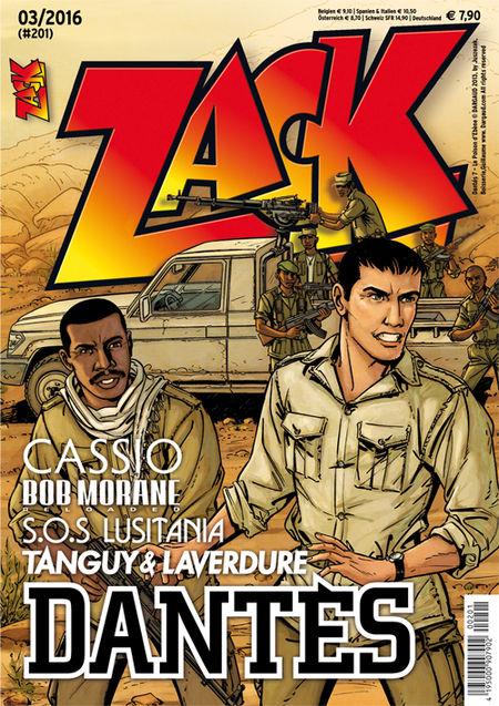 Zack 201 - Das Cover