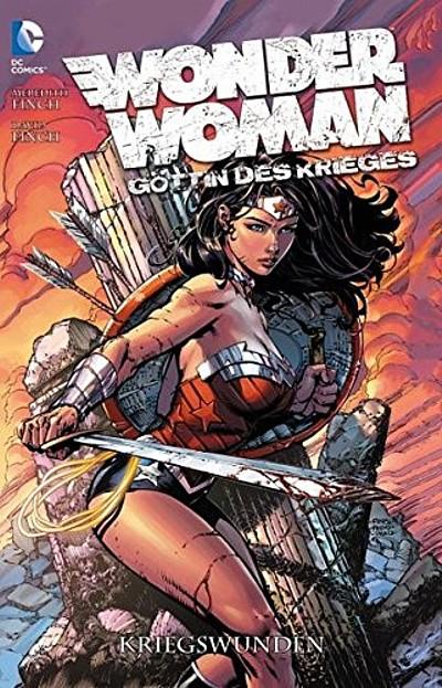 Wonder Woman - Göttin des Krieges 1: Kriegswunden - Das Cover