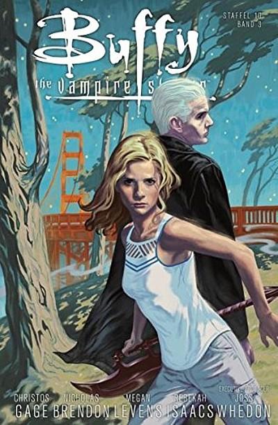 Buffy – The Vampire Slayer (Staffel 10) 3: Gefährliche Liebe - Das Cover