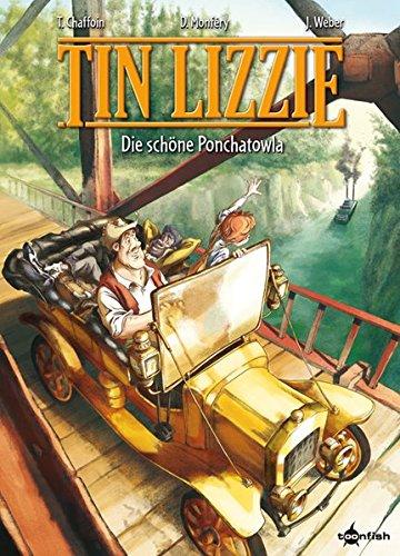 Tin Lizzie Band 1: Die Schöne von Ponchatoula - Das Cover