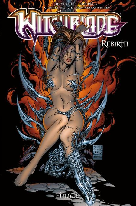 Witchblade Rebirth 6: Finale - Das Cover