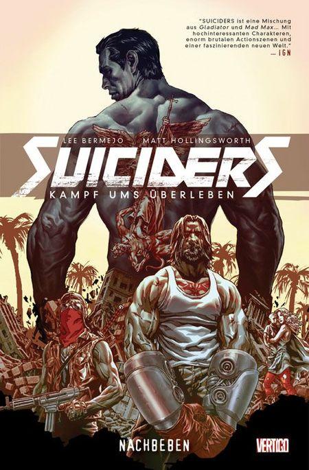 Suiciders 1: Nachbeben - Das Cover