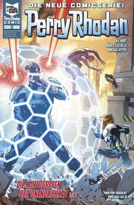 Perry Rhodan Comic 2: Die Kartografen der Unendlichkeit 2 - Das Cover