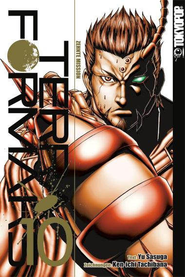 Terra Formars 10 - Das Cover