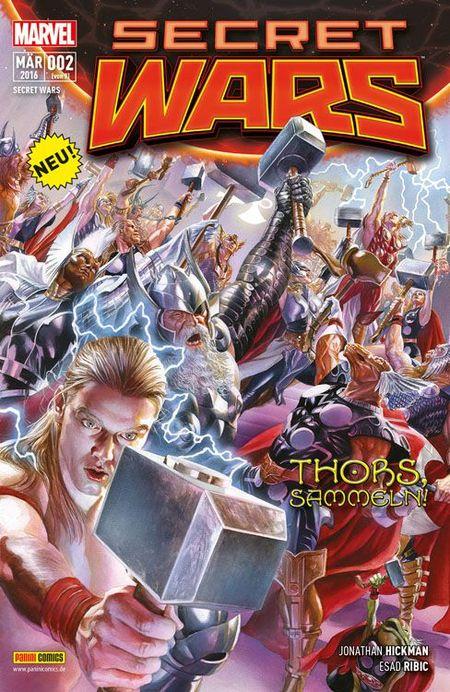 Secret Wars #2 - Das Cover