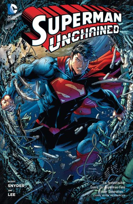 Superman Unchained - Das Cover