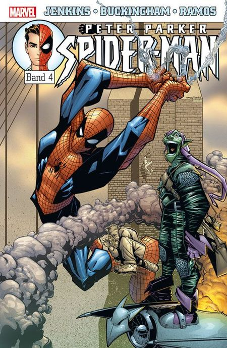 Peter Parker Spider-Man 4 - Das Cover
