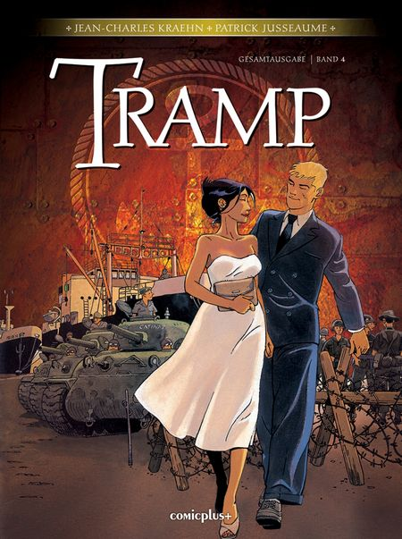 Tramp – Gesamtausgabe Band 4 - Das Cover