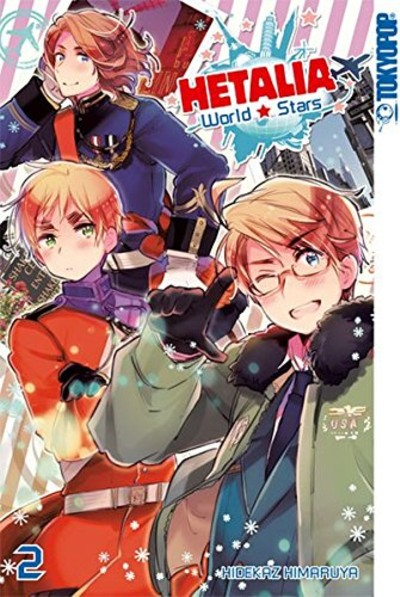 Hetalia World Stars 2 - Das Cover
