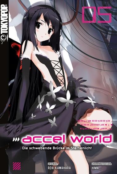 Accel World Novel 5: Die schwebende Brücke im Sternenlicht - Das Cover